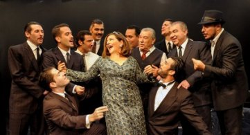 """10 Δεκεμβρίου 2017 - Θεατρική Παράσταση """"ΜΑΛΙΣΤΑ Κ. ΖΑΜΠΕΤΑ"""" στην Αθήνα"""